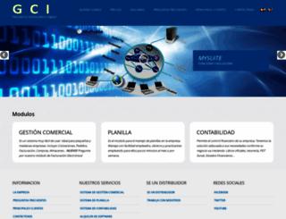 consorcioinformatico.com screenshot