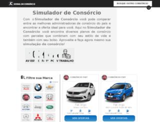 consorcionet.com.br screenshot