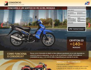 consoricioautorizadoyamaha.com screenshot