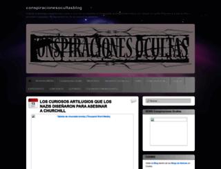 conspiracionesocultasblog.wordpress.com screenshot