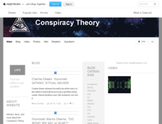 conspiracy101.olanola.com screenshot