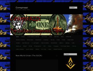 conspirazzi.com screenshot