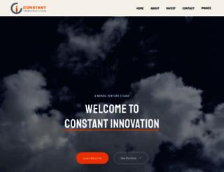 constantinnovation.org screenshot