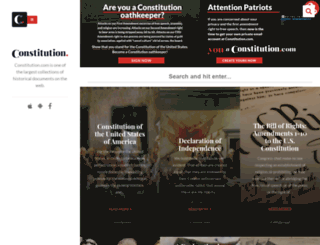 constitution.com screenshot