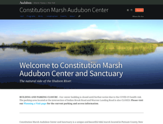 constitutionmarsh.audubon.org screenshot
