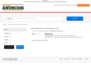 construcao-civil.guiadeanuncios.com.br screenshot