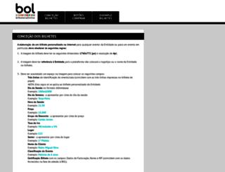 construcaobilhete.bilheteiraonline.pt screenshot