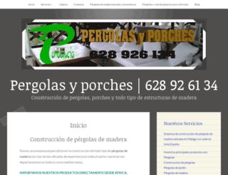 construcciondepergolas.wordpress.com screenshot
