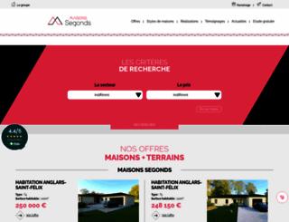 constructeur-maison-46.fr screenshot