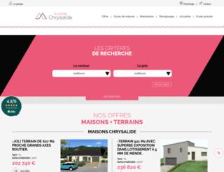 constructeur-maison-48.fr screenshot