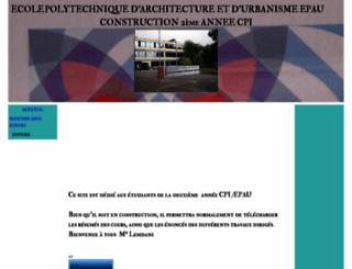 constructionepau.wifeo.com screenshot
