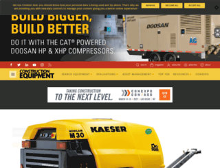 constructionequipment.com screenshot