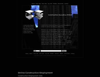 constructionexecutives.com screenshot