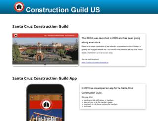 constructionguild.us screenshot