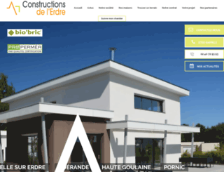 constructions-erdre.fr screenshot