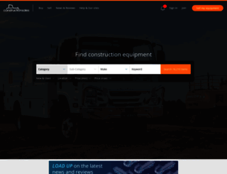 constructionsales.com.au screenshot