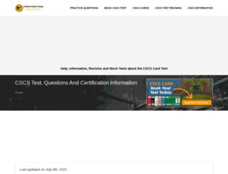 constructionskillstest.com screenshot