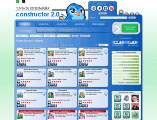 constructor.educarex.es screenshot