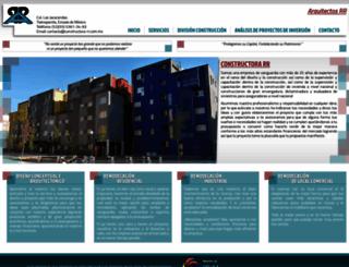 constructora-rr.com.mx screenshot