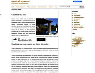 construir-una-casa.com screenshot