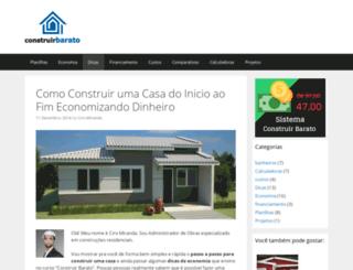 construirbarato.com.br screenshot