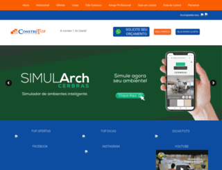 construtop.com.br screenshot