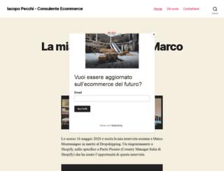 consulente-ecommerce.it screenshot