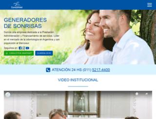 consulmed.com.ar screenshot