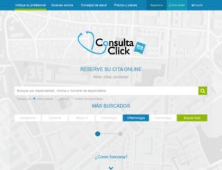 consultaclick.es screenshot
