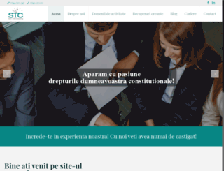 consultanta-juridica-stc.ro screenshot