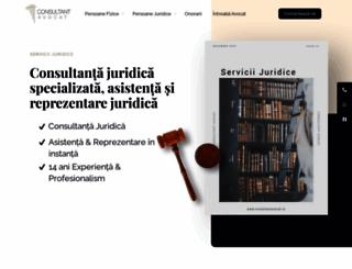 consultantavocat.ro screenshot