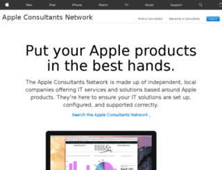 consultants.apple.com screenshot