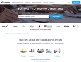 consultants.insureon.com screenshot