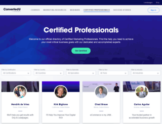 consultants.leadpages.net screenshot