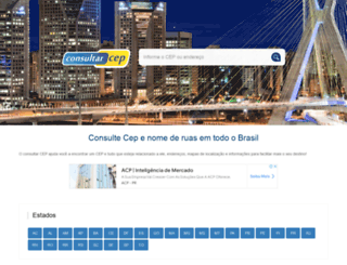 consultarcep.com.br screenshot