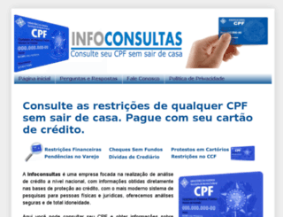 consultarcpf.in screenshot