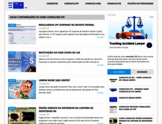 consultarcpf.org screenshot