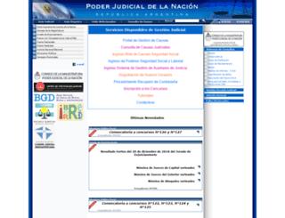 consultas.pjn.gov.ar screenshot