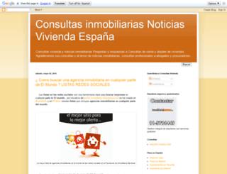 consultasinmobiliarias.blogspot.com screenshot