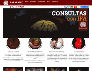 consultassanteria.com screenshot