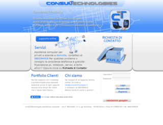 consultechnologies.it screenshot