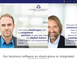 consulting-business-solutions.de screenshot