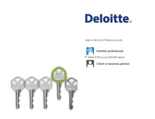 consulting.deloitteresources.com screenshot