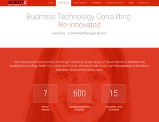 consulting.sciente.com screenshot