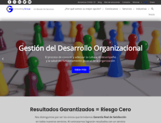 consultinggroupsa.com.ar screenshot