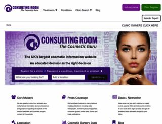 consultingroom.com screenshot