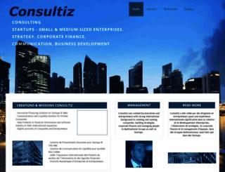 consultiz.com screenshot