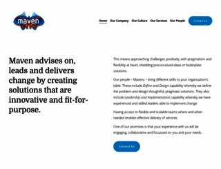 consultmaven.co.nz screenshot