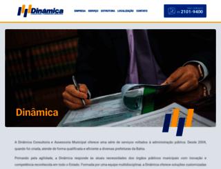 consultoriadinamica.com.br screenshot