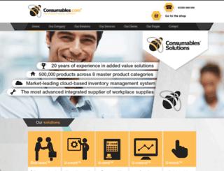 consumables.com screenshot